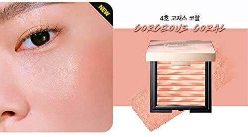 Clio Prism Air Blusher Gorgeous Coral Румяна для лица #4