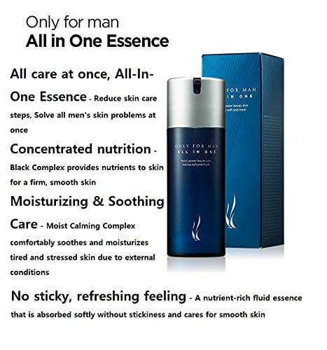 AHC Only For Man All-In-One Essence Эссенция для мужчин, 120мл.