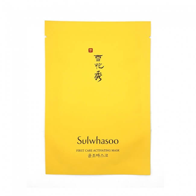 Sulwhasoo First Care Activating Mask Активизирующая маска, 25мл.