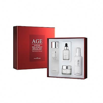 From nature Age Intense Treatment Special Set Набор средств для лица, 150 мл+100 мл+80 мл+30 мл