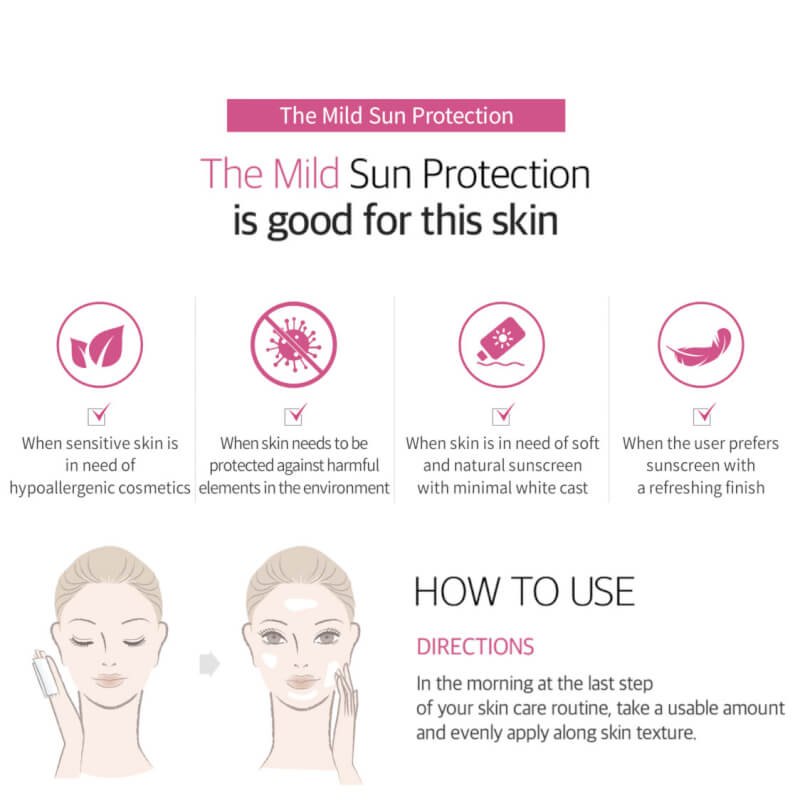 Lapothicell The Mild Sun Protection SPF50+ PA++++ Солнцезащитный крем, 50 мл