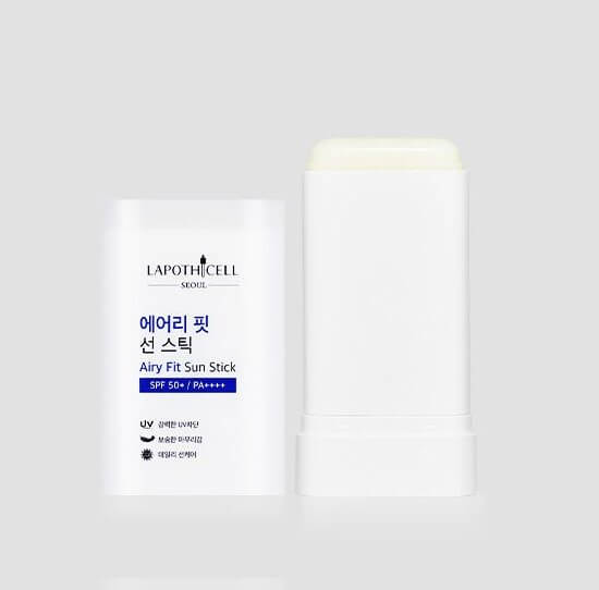 Lapothicell Airy Fit Sun Stick SPF 50 + PA ++++ Солнцезащитный стик, 18,5 гр.